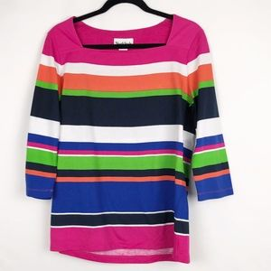 Northstyle Striped Three-Quarter length sleeve